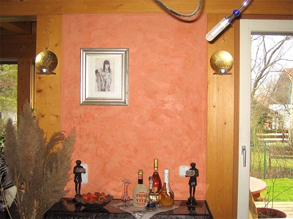 Wandgestaltung und malerarbeiten raumausstattung schmitt - Wand wischtechnik ...